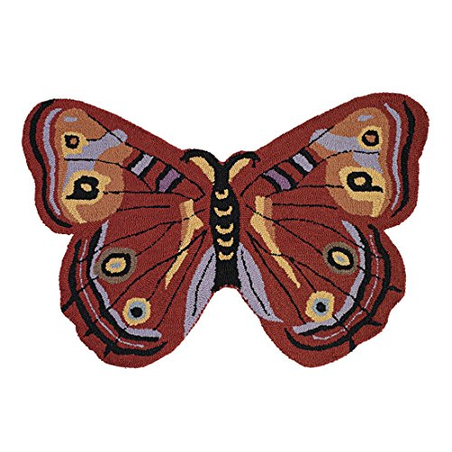 Brylanehome Nori Butterfly Rug (Spice,0)
