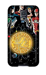 Durable Defender Case For Galaxy S5 Tpu Cover Justice League