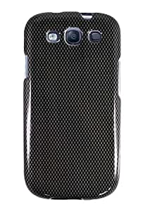 Graphic Case for Samsung i9300 Galaxy S3 - Carbon Fiber (Package include a HandHelditems Sketch Stylus Pen)