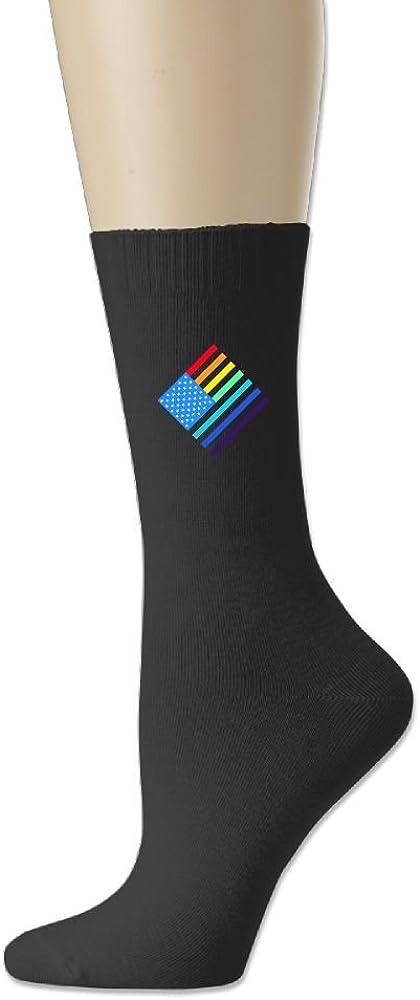 Jia Li Pug Cap Unisex Funny Novelty Casual Soft Cotton Socks