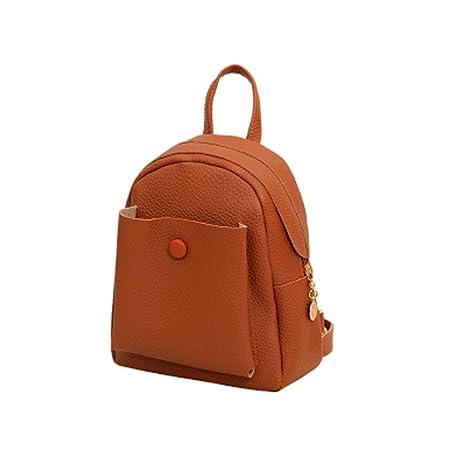 XINANTIME - Mini mochilas nuevas Bolso de hombro de cuero de moda Bolsas escolares de viaje