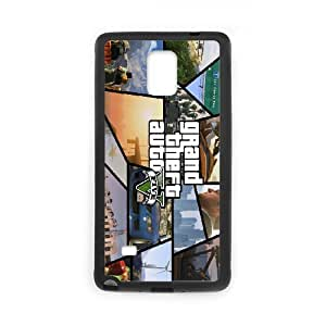 Samsung Galaxy Note 4 Phone Case Printed With Grand Theft Auto Images
