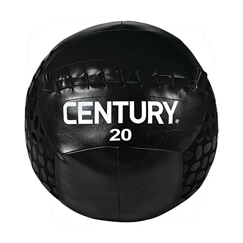 Cheap Century Challenge Grip Ball, Black, 20-Pounds