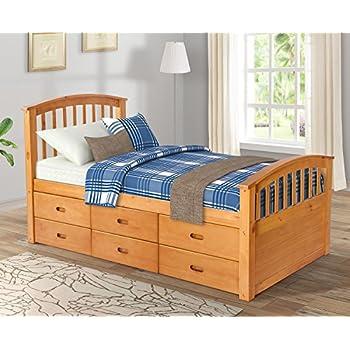 Amazon Com South Shore Sweet Morning Twin Bed Royal
