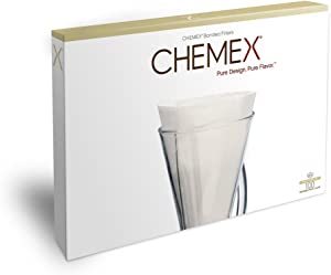 CHEMEX Bonded Filter - Half Moon - 100 ct