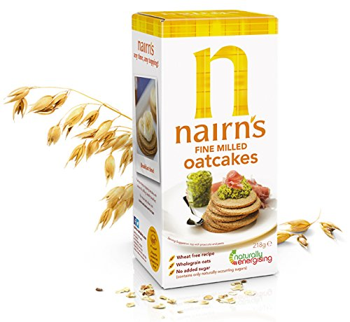 Nairns Fine Milled Oat Cakes 218g x 4 NAIRN' S OATCAKES