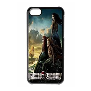 C-EUR Print Pirates of the Caribbean Pattern Hard Case for iPhone 5C