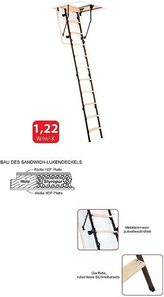 Suelo Escaleras Mini 4tlg. 100 X 60 + Blanco Tapa + U de valor 1,22: Amazon.es: Bricolaje y herramientas