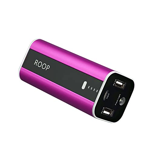 65 opinioni per Roop 12000 mAh Caricabatterie Dual USB Batteria Esterna Portatile Caricabatteria