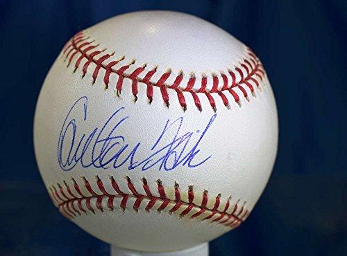 CARLTON FISK MLB STEINER HAND SIGNED MAJOR LEAGUE AUTOGRAPH BASEBALL ()
