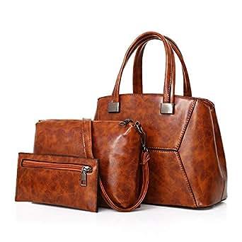 Fashion Bag For Women,Brown - Handbags Sets