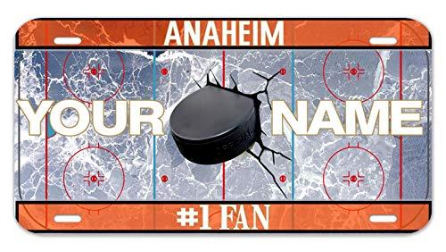 (Bleu Reign Personalized Custom Name Hockey Team Anaheim 12