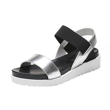 Sandales Les D Talon Été Dodumi Femme 5cm 1JFKlcT