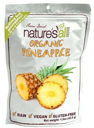 Natures All Pineapple Frz Drd Raw Org by Natures All Food (Image #2)
