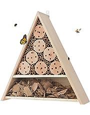 Générique Grand Hôtel à Insectes - abri Refuge nichoir Maison Abeille Papillon coccinelles - 40 cm