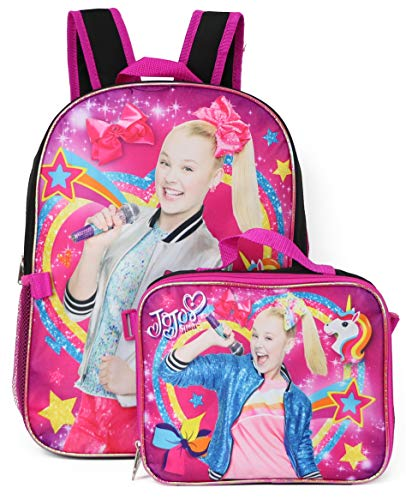 Just Fab Purses - Nickelodeon Jojo Siwa Backpack Lunchbag Set