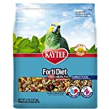 Kaytee Forti-Diet Pro Health with Safflower Parrot Food, 4 lb