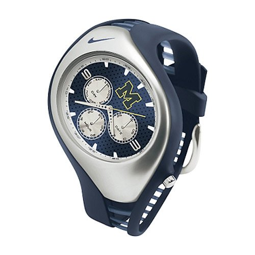 Triax Analog (Nike Triax Swift 3i Analog NCAA University of Michigan Team Watch - Navy/Navy - WD0034-401)