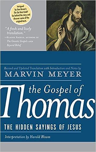Image result for gospel of thomas marvin meyer