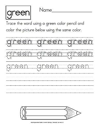 Amazon.com: Handwriting Worksheets | + 500 Top Quality Cursive ...