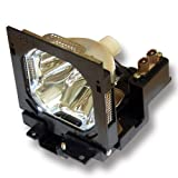 Original Bulb and Generic Housing for Eiki 6103093802 Replace 610 309 3802, 6103093802, 610-309-3802, POA-LMP73 Projector Lamp