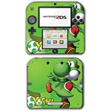 Yoshi New Super Mario Bros World Land Cute Green Egg Video Game Vinyl Decal Skin Sticker Cover for Nintendo 2DS System Console