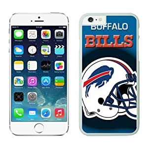 Buffalo Bills Case For iPhone 6 Plus White 5.5 inches