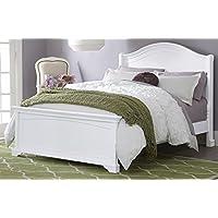 NE Kids Walnut Street Morgan Arch Bed, White, Full