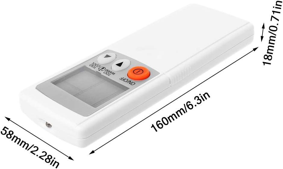 Mando a distancia de repuesto para mando a distancia de aire acondicionado inteligente para Mitsubishi KM05E KD05D KM09A KM09D KM09E KM09G JENOR KD06ES