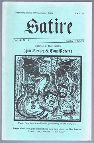 SATIRE Winter 1997/1998 Vol. 4 No. 3: The Quarterly Journal of Contemporary Satire