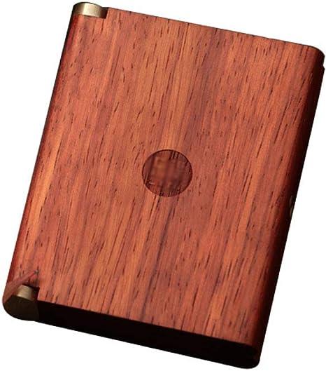WANGXNCase Caja de Cigarrillos de Madera para Hombres Cajas de Cigarrillos portátiles Vintage para Cigarrillos ordinarios Regalos de Empresa: Amazon.es: Deportes y aire libre