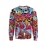 iPrint 3D Print,Graphic Decor,Pullover Sweater