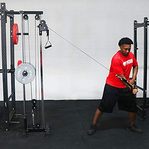 Titan Fitness Wall Mounted Pulley Tower | Tall | V2 by Titan Distributors Inc. (Image #5)