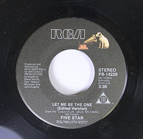 FIVE STAR / Let Me Be The One / 45rpm record + picture sleeve