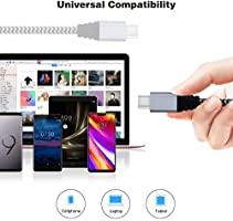 Amazon.com: iSeeker 6FT USB C to USB C Cable 6 patas ...