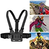 Walway Adjustable Chest Mount Harness for Gopro Hero 5, 4, Session, 3+, 3, 2, 1 and other Action Cameras, Fully Adjustable Strap Size