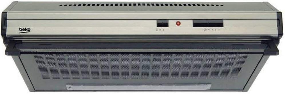 Beko CFB 6432 XG Telescópica o extraplana Acero inoxidable 240m³/h - Campana (240 m³/h, Canalizado/Recirculación, 54 dB, 60 dB, 66 dB, Telescópica o extraplana): Amazon.es: Hogar