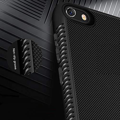 Ankirant TPU Transparent Bumper Case Back Cover for Oppo Realme 1  2018 Edition