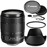 Canon 18-135mm f/3.5-5.6 IS USM Lens (White Box)