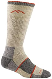 Darn Tough Vermont Men's Merino Wool Boot Full Cushion Socks, Oatmeal, Large 10-12