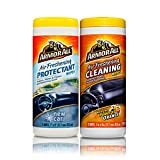 Kyпить Armor All Air Freshening Wipes Car Interior Cleaning & Protectant Pack на Amazon.com