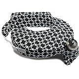 Zenoff Products My Brest Friend Nursing Pillow, Black and White Marina