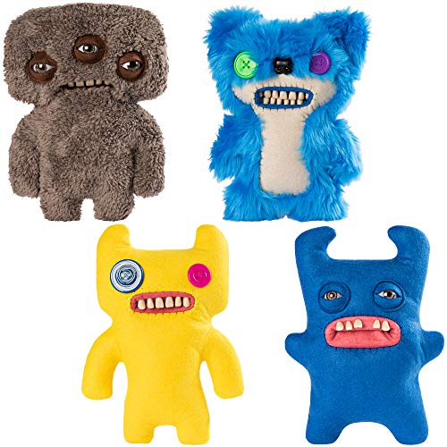 (Fuggler Spin Master Funny Ugly Monster Deluxe Stuffed Animal Medium 9