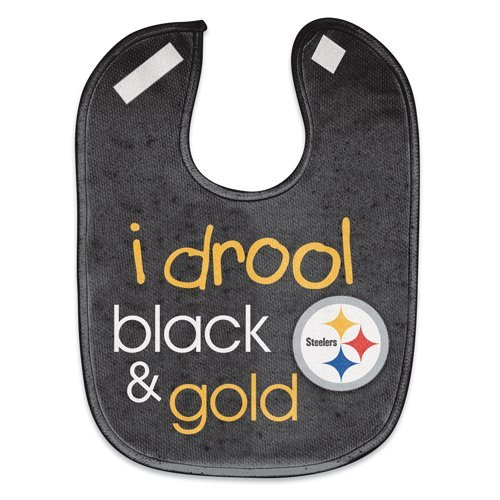 WinCraft NFL Pittsburgh Steelers WCRA1959514 All Pro Baby Bib