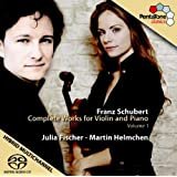 Schubert- Complete Works for Violin and Piano, Vol. 1: (3) Sonatas / Rondo, d. 384,385,408,895