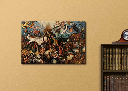 The Fall of The Rebel Angels by Pieter Brueghel The Elder Print Famous Painting Reproduction