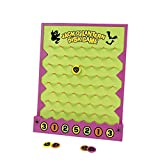Halloween Disk Drop Game - Toys - 7 per Pack