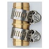 "Orbit Brass 5/8"" Water Hose Repair Kit - Lawn & Garden Hoses Mender Fix, 58115N"