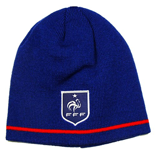 única Rojo Azul Gorro de Hombre Talla de Azul para Équipe Punto France Football de nPvOxwFqCw