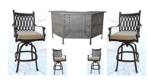 (Tourville Outdoor Living Tuscany Party Bar)